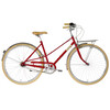 Creme Caferacer Solo Ladies red